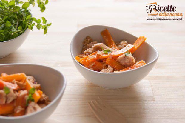 insalata tonno carote