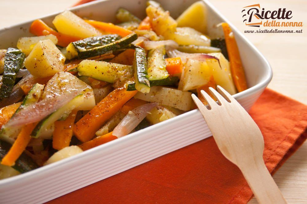 Padellata di verdure alla noce moscata ricette della nonna for Ricette di verdure