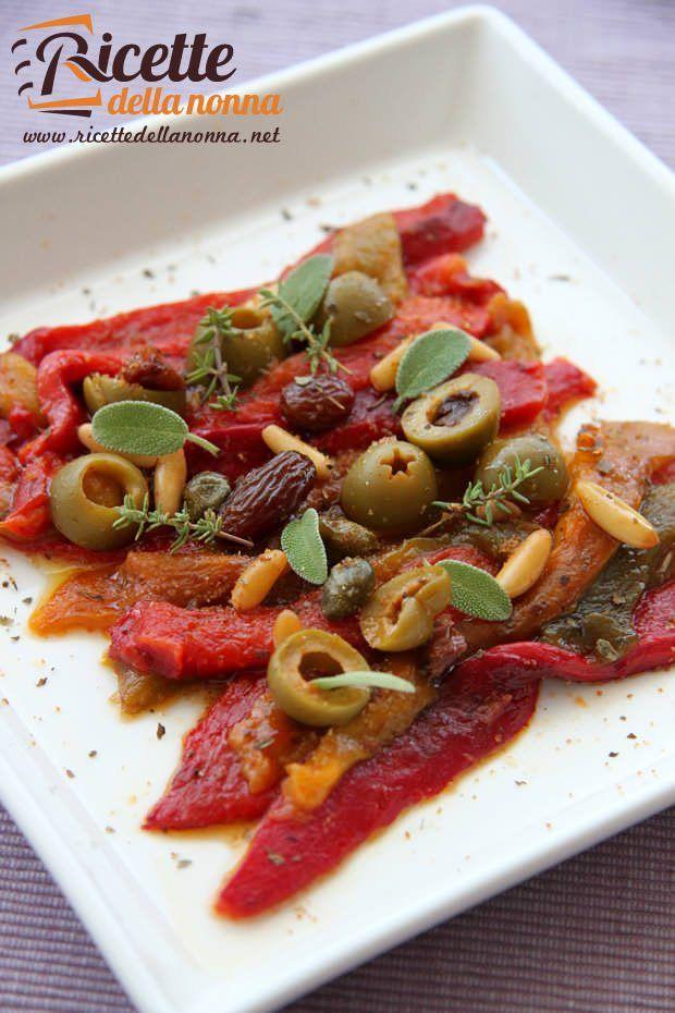 Peperoni in agrodolce ricetta e foto