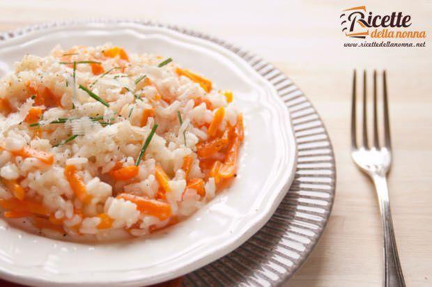 riso carote erba cipollina