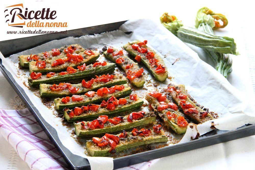 Teglia di zucchine gratinate ricette della nonna for Ricette veloci per cena