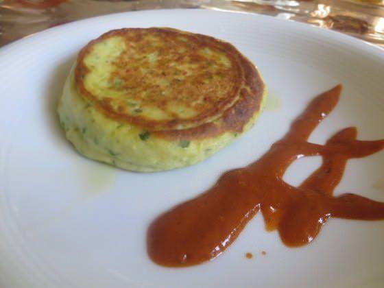 Flan di ricotta e zucchine in padella ricetta e foto