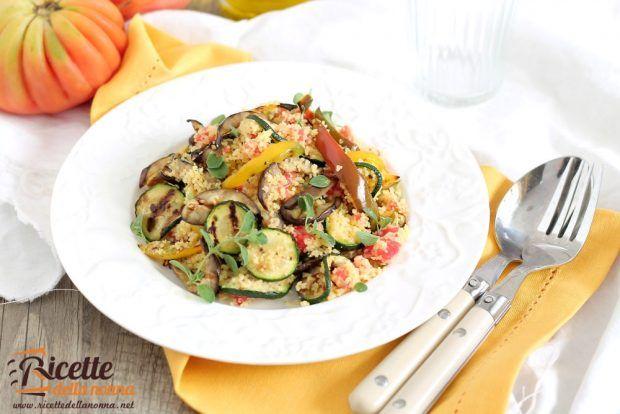 Cous cous pomodoro e verdure grigliate