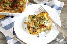 Lasagna con zucchine e melanzane