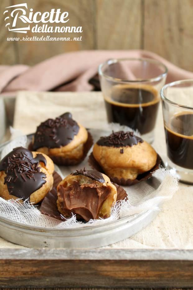 Foto Bignè ricotta e cacao