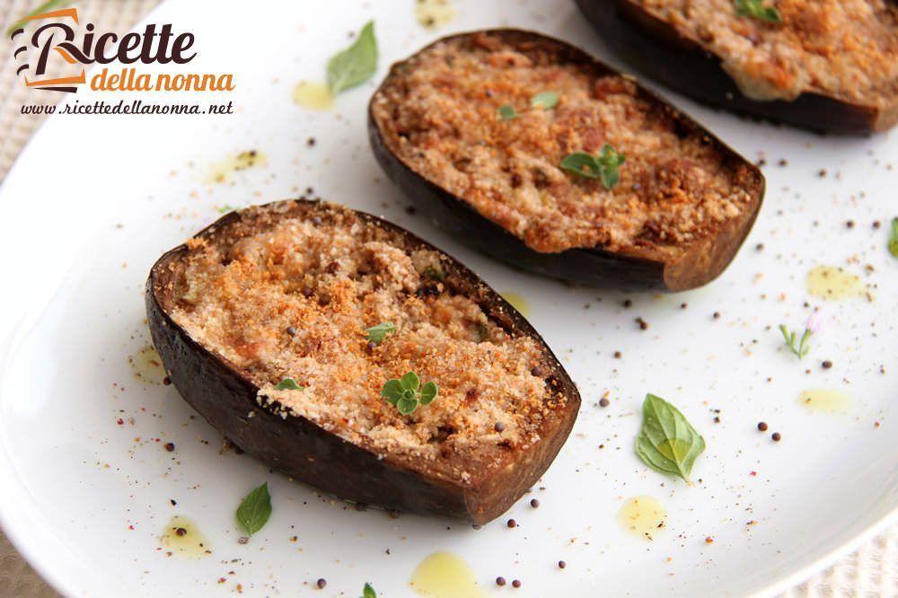 Melanzane ripiene con scamorza e prosciutto ricette for Melanzane ricette