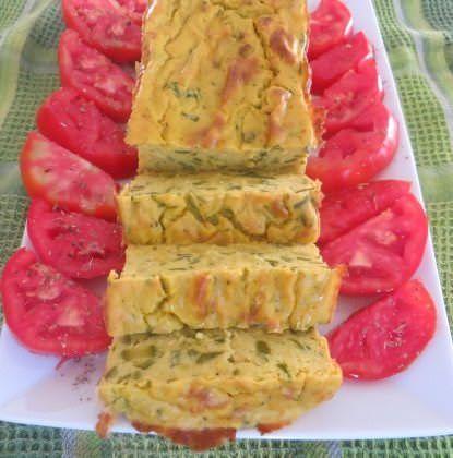 Terrina di zucchine allo zafferano ricetta e foto