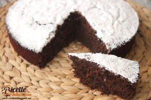 Torta al cocco e cacao