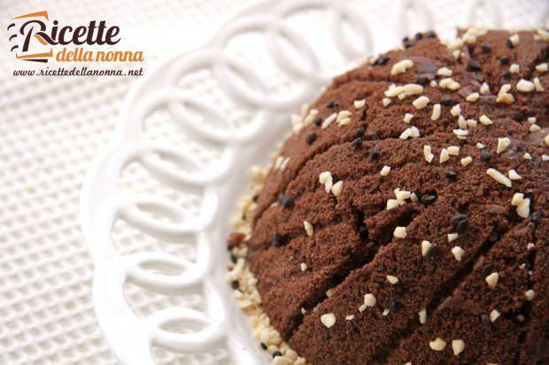 Ricetta zuccotto ricotta cocco cioccolata