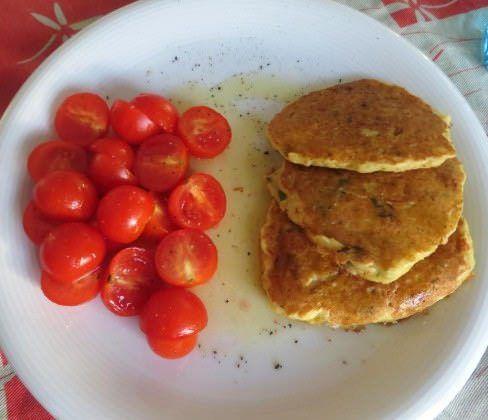 Frittelle alla farina di ceci ricetta e foto