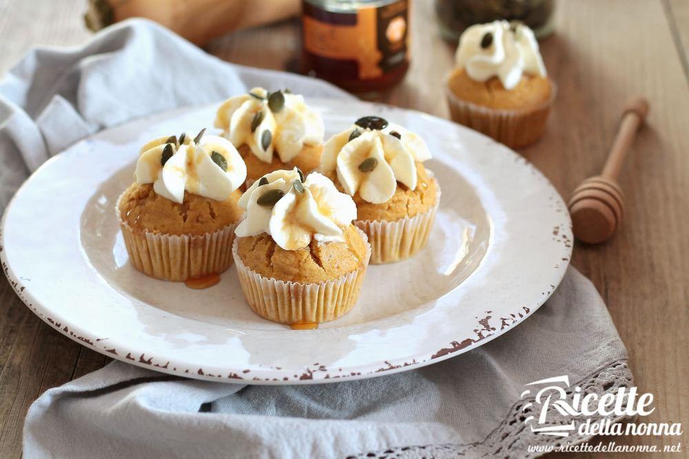 Muffin alla zucca ricetta e foto