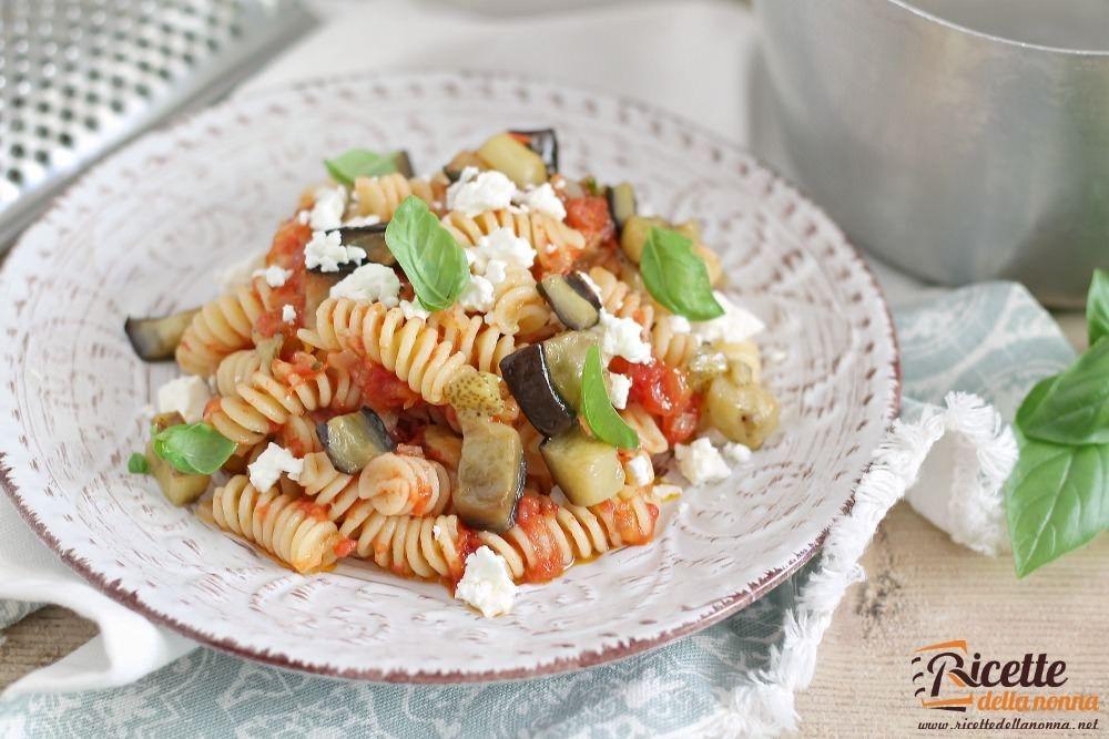 Pasta alla norma ricetta e foto ricette della nonna for Ricette veloci vegetariane primi piatti