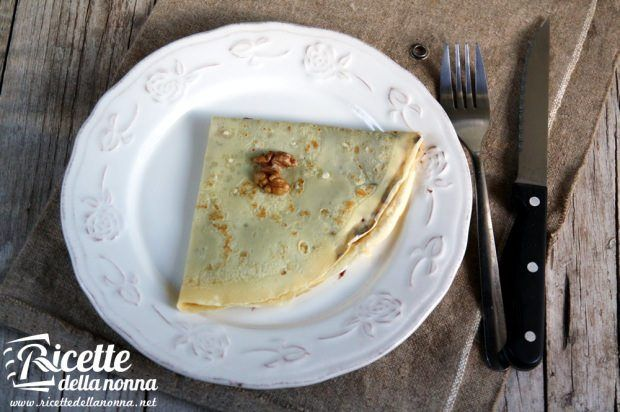 Crepes Nutella e noci