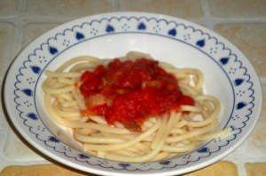 Pici Toscani con Spalla  senese e Vernaccia