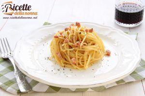come fare gli spaghetti alla carbonara