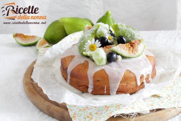 Ricetta torta fichi e uva