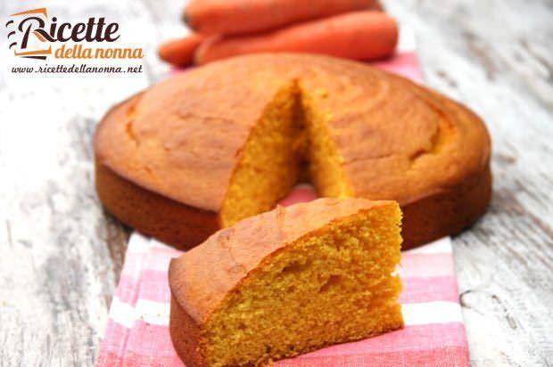 Ricetta torta alla carota