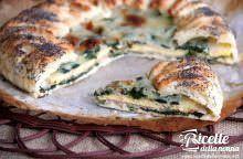 Torta salata con sorpresa di frittata