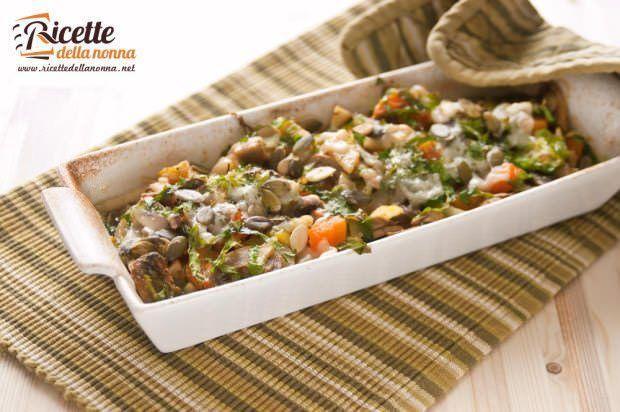 Gratin di verdure autunnali ricetta e foto