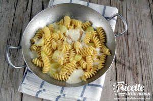Pasta al forno con patate