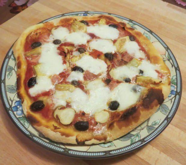 Pizza quattro stagioni ricetta e foto