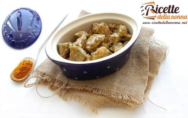Ricetta spezzatino con curry