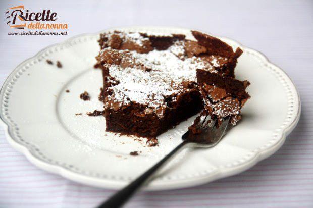 Torta al cioccolato e caffè ricetta e foto