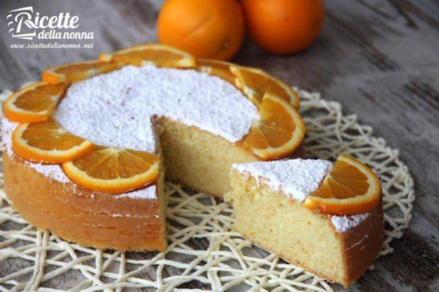 ricetta torta all'arancia