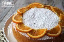 Torta all'arancia morbida
