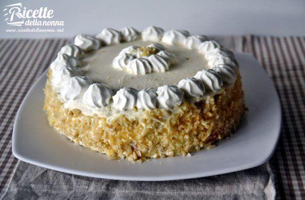 ricetta torta crema chantilly
