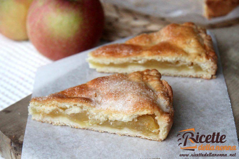 Torta cuor di mela o crostata di mele ricette della nonna for Ricette cucina semplici