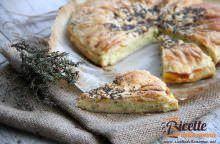 Torta salata con verza e Leerdammer