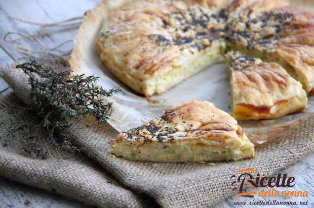 Torta salata con verza e Lerdammer