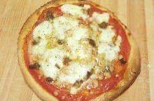 Pizza al farro e Occelli alle foglie di castagno