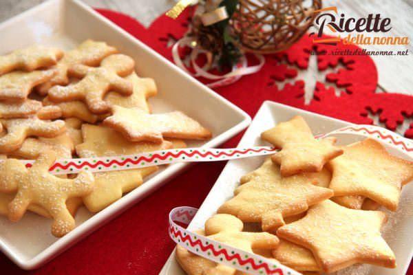 Biscotti di Natale glassati al cioccolato