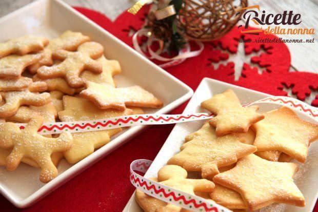 Biscotti Di Natale Tedeschi Ricetta.Le 10 Migliori Ricette Di Biscotti Di Natale Ricette Della Nonna
