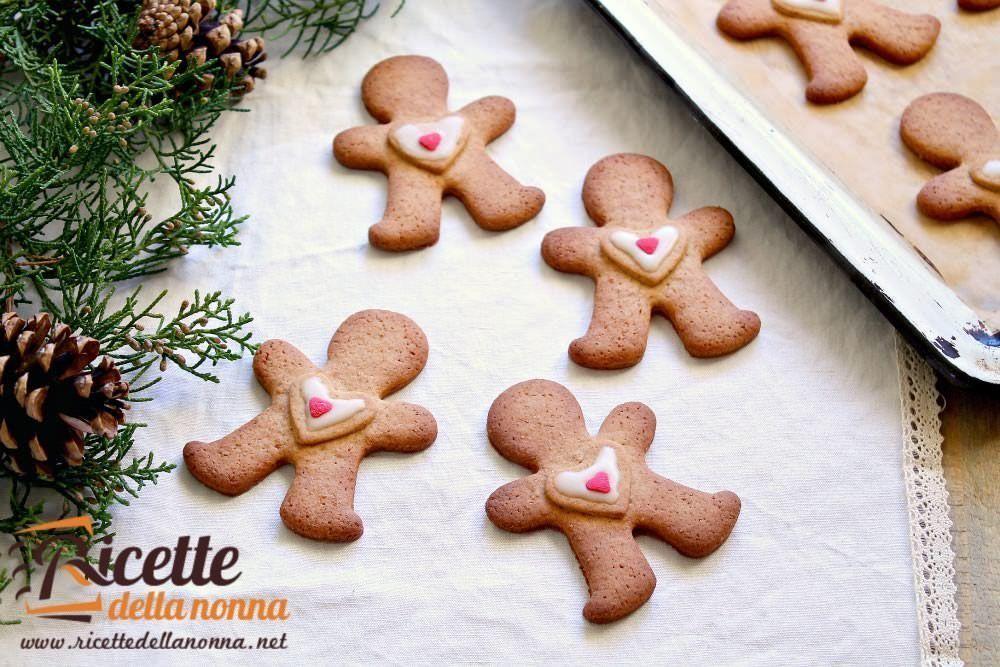 Biscotti Classici Di Natale.Biscotti Di Natale Omini Di Pan Di Zenzero
