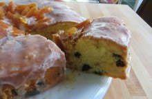 Torta con prugne secche e albicocche