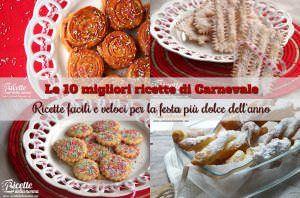 10 Migliori dolci di Carnevale