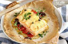 Salmone al forno light con patate