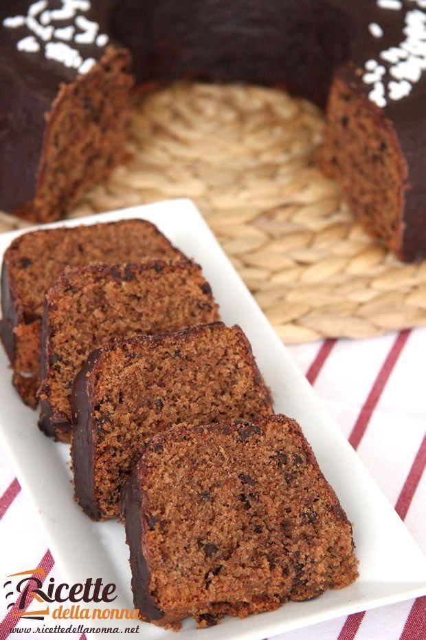 Ciambella cacao e cioccolato ricetta e foto