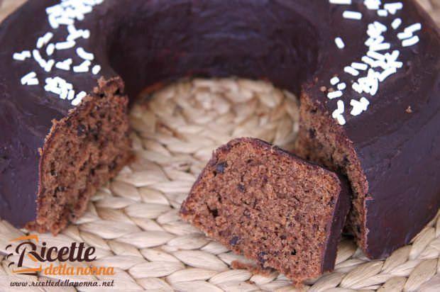 Ricetta ciambella cacao cioccolata