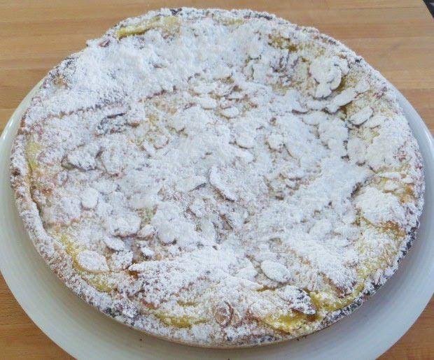 Crostata di crema alla vaniglia, mela verde e cannella ricetta e foto