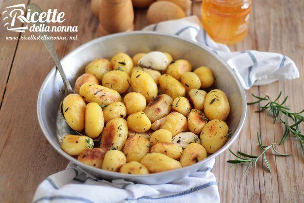 Patate al forno al miele ricetta e foto