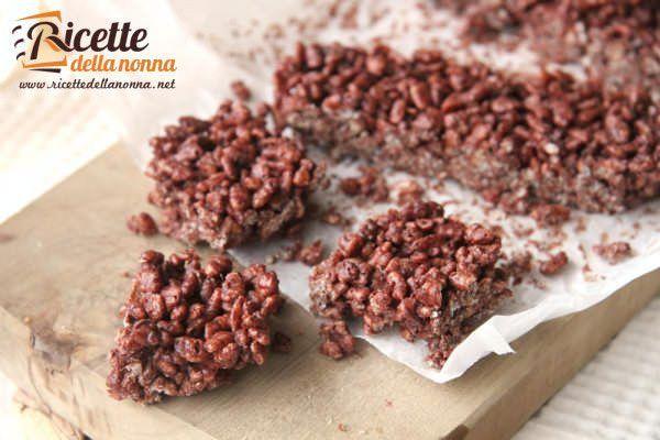 Barrette di cioccolato e riso soffiato (Cerealix)