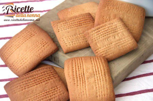 Biscotti Rigoli ricetta e foto