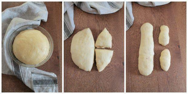 Preparazione Colomba pasquale fatta in casa