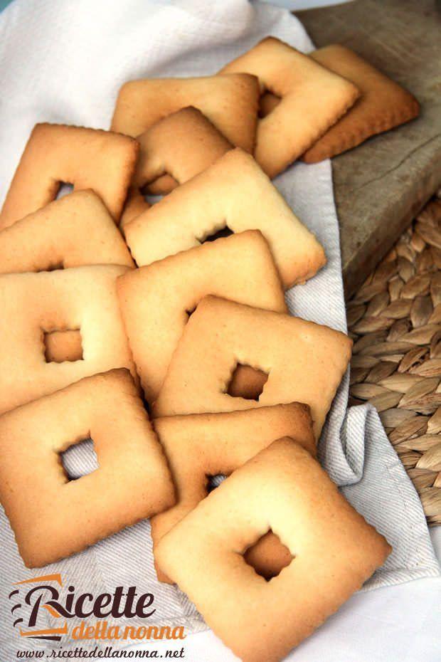 Biscotti Campagnole ricetta e foto