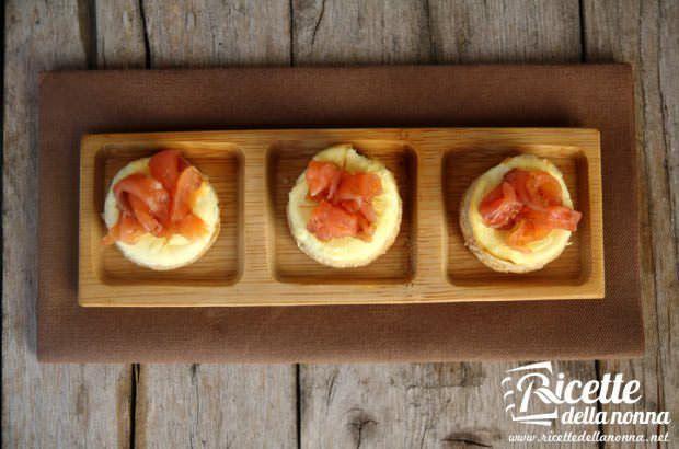 Cheesecake al salmone ricetta e foto