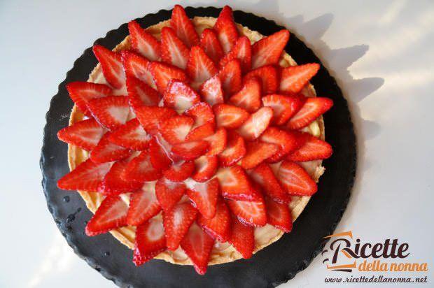 Crostata di fragole ricetta e foto